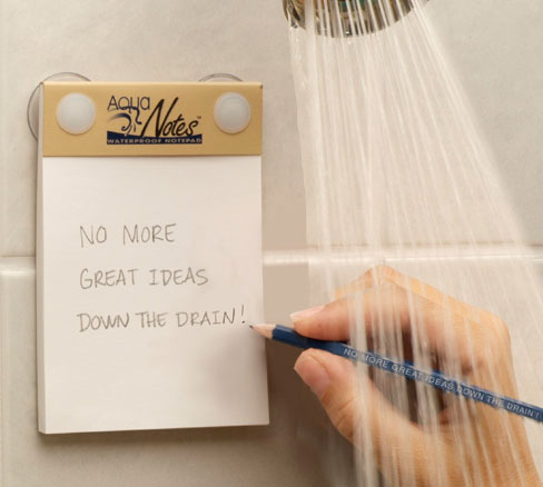 Aqua Notes Shower Note System