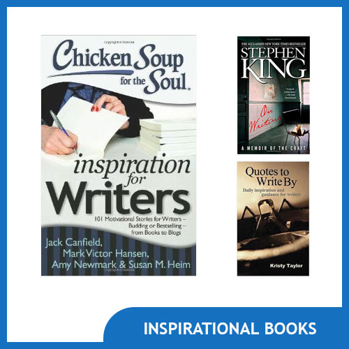 Inspirational Book Gifts for Writers