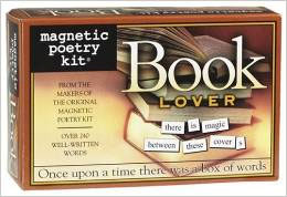 Magnetic Poetry Kit Book Lover Edition