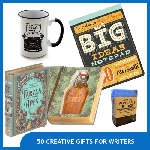 50 Creative Gifts for Writers