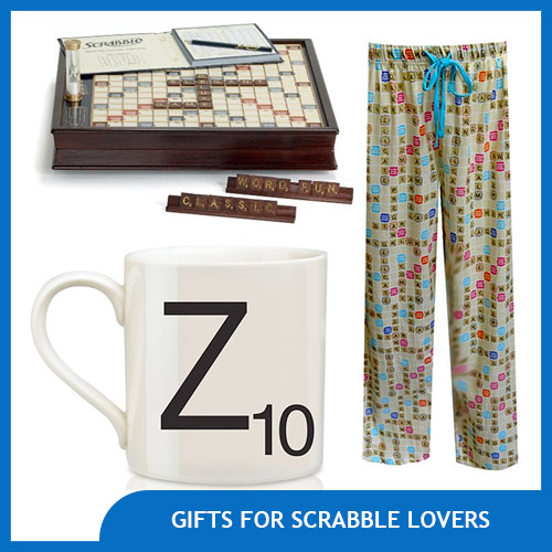 Amazing Gifts for Scrabble Lovers
