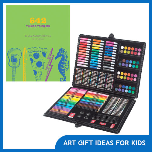 Art Gifts for Kids and Aspiring Young Artists