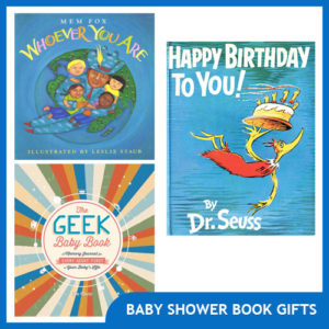 Thoughtful & Original Baby Shower Book Gifts