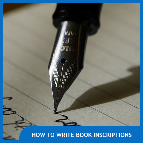 What to Write in a Book for a Gift – Book Inscription Ideas