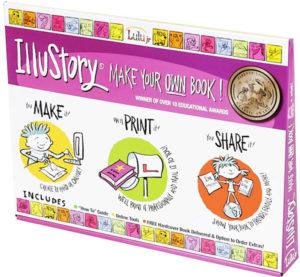 Illustory Make Your Own Book Kit for Kids