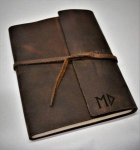 Custom Engraved Leather Journal