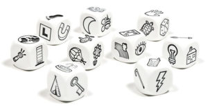 Rory's Story Cubes Set for Writer's Block and Creativity