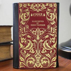 Jane Austen Emma Vintage Book Wallet
