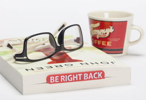 Be Right Back Bookmark Gift