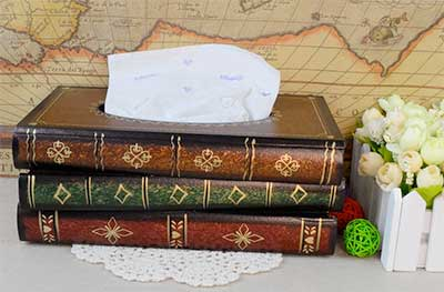 book-tissue-box