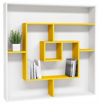 labyrinth modern bookshelf