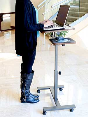 Laptop Portable Standing Desk for Writers