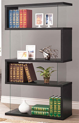Modern Bookshelf for Writers