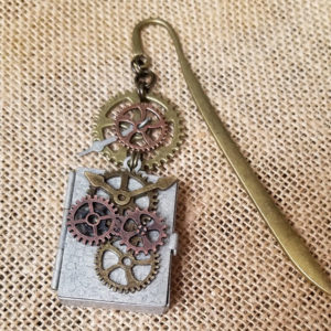 Steampunk Cogs & Gears Bookmark