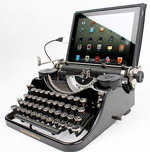 USB Typerwriter Keyboard