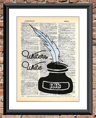 writers write art print
