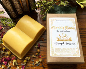Specialty Book Soaps Gifts for Readers