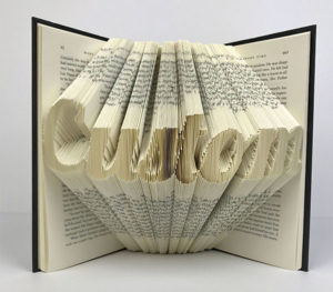 Folded Book Art Gifts for Readers