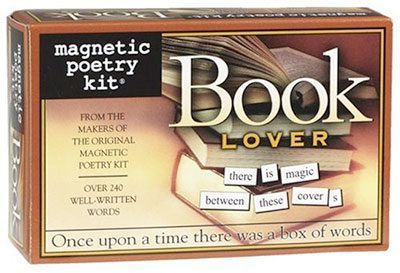 Magnetic Poetry Book Lover's Kit