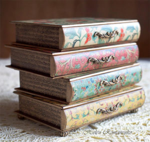 Stack of Books Jewelry Box - Gifts for Readers