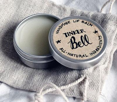 Tinker Bell lip balm