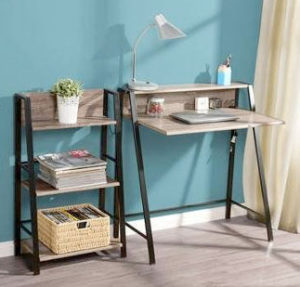 2 Tier Writing Desks for Small Spaces