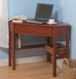 Corner Writing Desks for Small Spaces