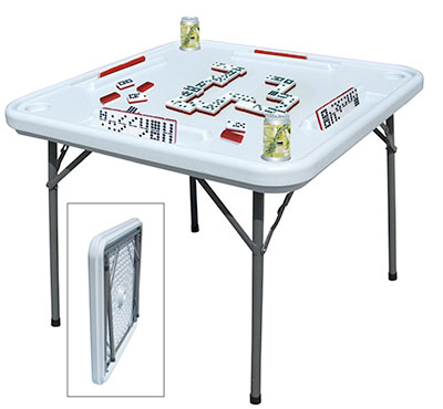 Bene Casa Folding Game Table Gifts for Scrabble Lovers