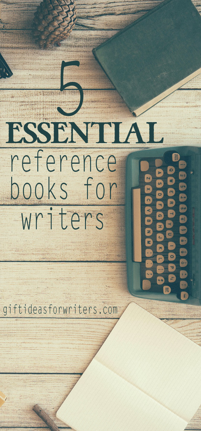 5 Essential Reference Books All Writers Should Have on Their Desk