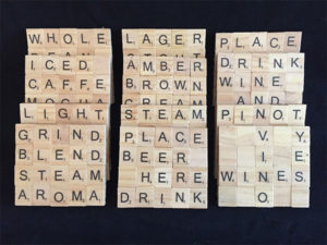 Scrabble Coasters Gifts