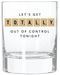 Scrabble Cocktail Glasses