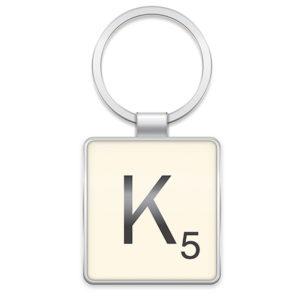 Scrabble Letter Tile Keyring