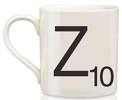 Scrabble Letter Tile Mug