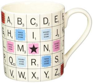 Vintage Scrabble Tile Mug