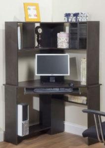 TMS Morgan Corner Desk with Hutch
