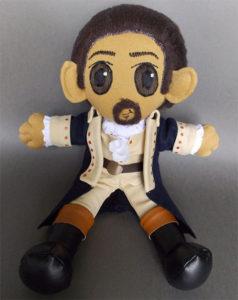 Hamilton Characters Plushy Dolls