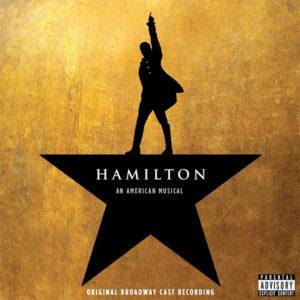 Hamilton Original Broadway Cast Recording CD