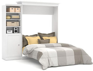 Queen Size Bookcase Murphy Beds