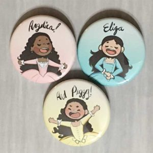 Schuyler Sisters Button Pins