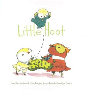 Little Hoot Baby Shower Book Gift