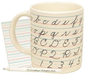 Lost Art of Penmanship Mug