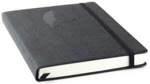 Red Co. Journal with Embossed Quill