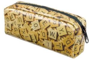 Scrabble Letters Pencil Case