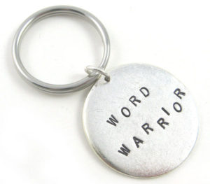 Word Warrior Keychain