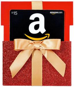 $15 Amazon Gift Card Stocking Stuffer