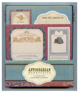Antiquarian Bookplates Stocking Stuffers for Book Lovers