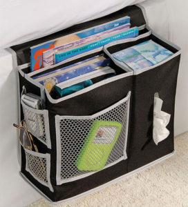 Bedside Book Storage Caddy