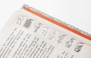 Tiny Metal Bookmarks Gift Set
