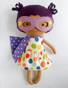 Handmade Custom Superhero Ragdolls