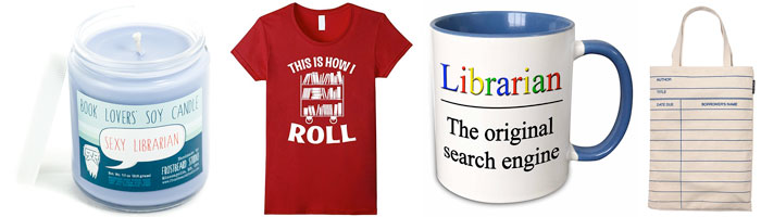 Fun and Bookish Gifts for Librarians